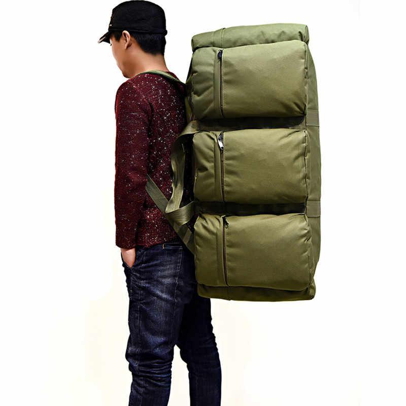 2019 Мужские Винтажные дорожные сумки большой емкости Холщовая Сумка портативная багажная Повседневная сумка Bolsa многофункциональная багажная сумка