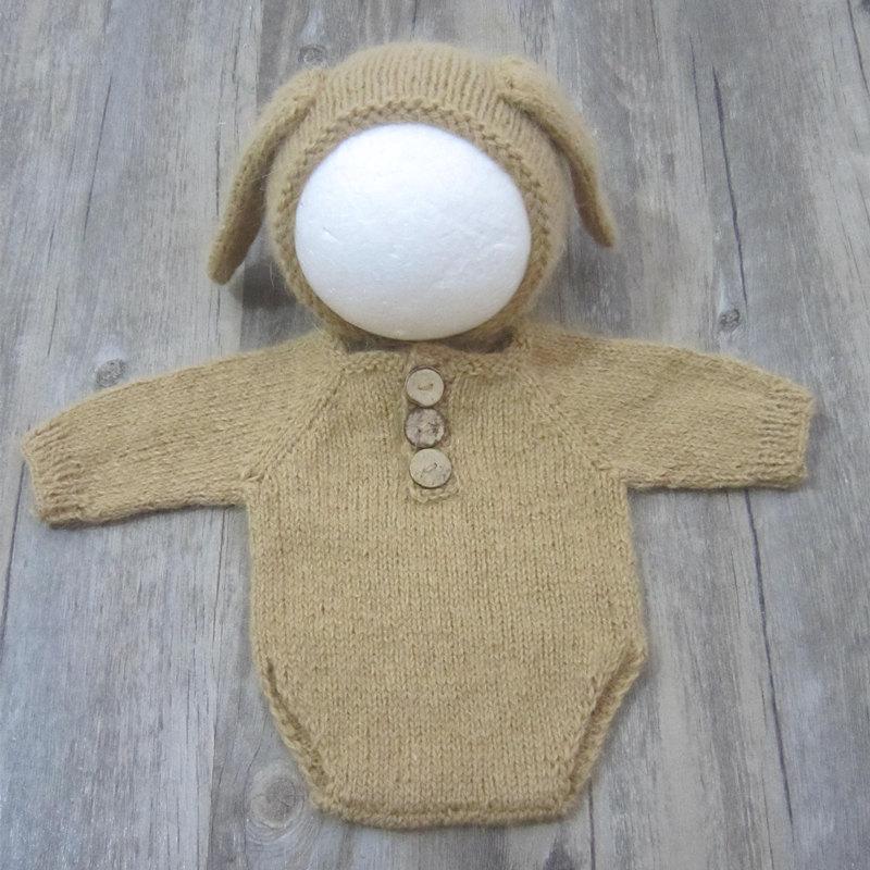 Newborn photography props,baby fuzzy romper for photography props,baby Dress gift