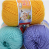 10pcs Lot 500g Smooth Cotton Blended Yarn Thick Yarn DIY Hand Knitting Yarn Baby Knitted Needle
