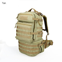 MIlitary Tactical 59L 60 28 35cm Men 1000D Nylon Waterproof Backpackage Men Hunting Hiking Sports Bags