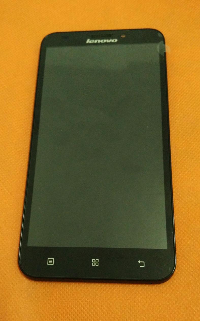 """imágenes para Original LCD Pantalla + Touch Screen + Frame para Lenovo A916 MTK6592 Octa Core 5.5 """"HD 1280x720 4G LTE Envío Libre"""