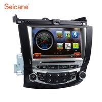 Seicane Car Radio GPS Navi For 2003 2007 Honda Accord 7 Single AC DVD HD Bluetooth