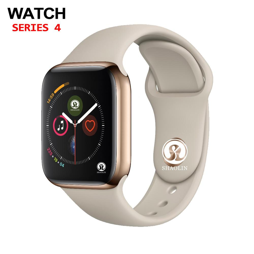 Bluetooth montre intelligente Clone SmartWatch 42mm pour Apple iOS iPhone Android Samsung téléphone intelligent pas Apple montre Fitness Tracker