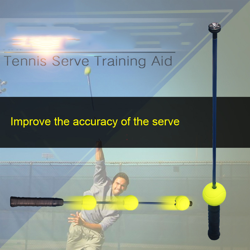 Tennis Trainer Professional Ace Master The Ultimate Serve Aid Padel Raqueta Tenis Training Accessories For Racket Sports