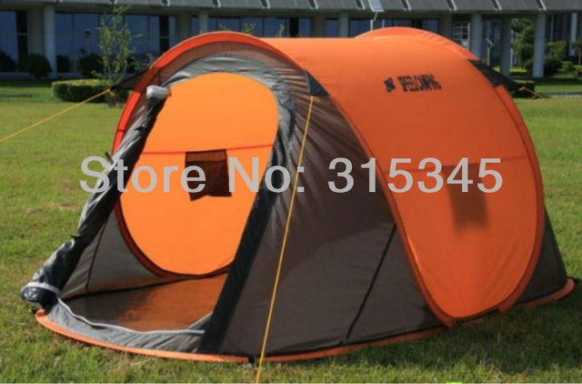 High quality 2 person instant tent automatic folding c&ing tent with 2 hidden type windows & High quality 2 person instant tent automatic folding camping tent ...