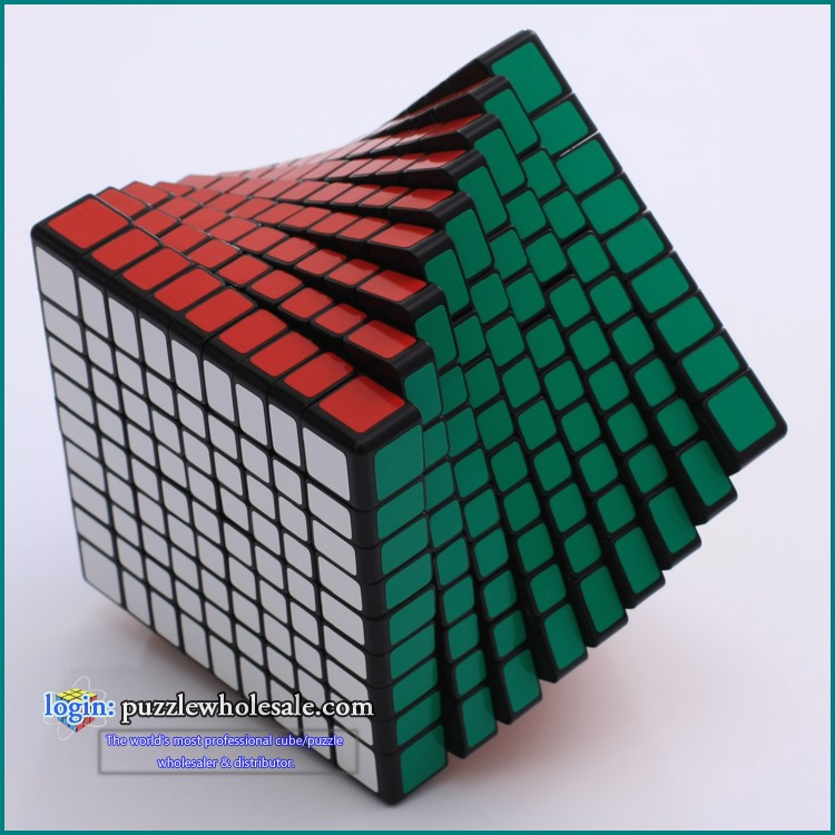 Shengshou 9x9x9 Magic Speed Competition Cube Professional PVC Stickers cobo Wholesale Cubo Magico Metallised Cubiks Juguetes