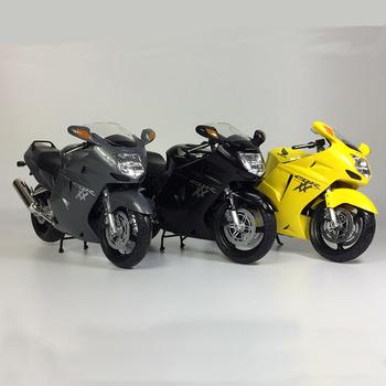 1 12 motocykli Honda Model zabawkowy HONDA CBR 1100XX Super Blackbird Model motocykla tanie i dobre opinie Diecast Edukacyjne Mini 3 lat For display And Collection Can Not Play NoEnName_Null Z tworzywa sztucznego