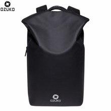 Ozuko Мужчины Путешествия Рюкзак Водонепроницаемый USB зарядка сумка для ноутбука большой Ёмкость школьный/бизнес/ноутбук рюкзак 20-35L