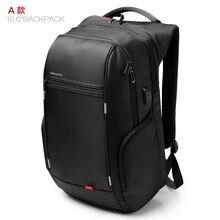 KINGSONS shoulder USB charging laptop bag 15 6 inch Laptop bag business man ks3140w