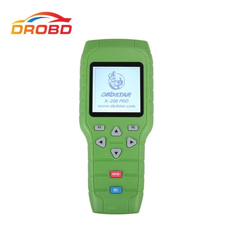 Original OBDSTAR X-200 X200 Pro A+B Configuration for Oil Reset + OBD Software + EPB Free Shipping master b 15 epb