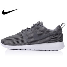 814405a94850 Original Authentic Nike ROSHE ONE Men s Mesh Breathable Light Running Shoes  Sneakers Outdoor Walking Jogging Classic Comfortable