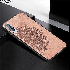 Image 4 - עבור סמסונג גלקסי A50 מקרה רך סיליקון יוקרה בד מרקם קשיח מחשב מקרה טלפון עבור Samsung Galaxy A50 כיסוי עבור סמסונג A50