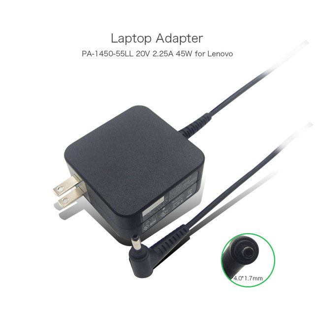 2016 New Arrival PA-1450-55LL 5A10H42923 Portable Laptop Power Supply for Lenovo 20V 2.25A 45W AC Adapters Charger with US Plug