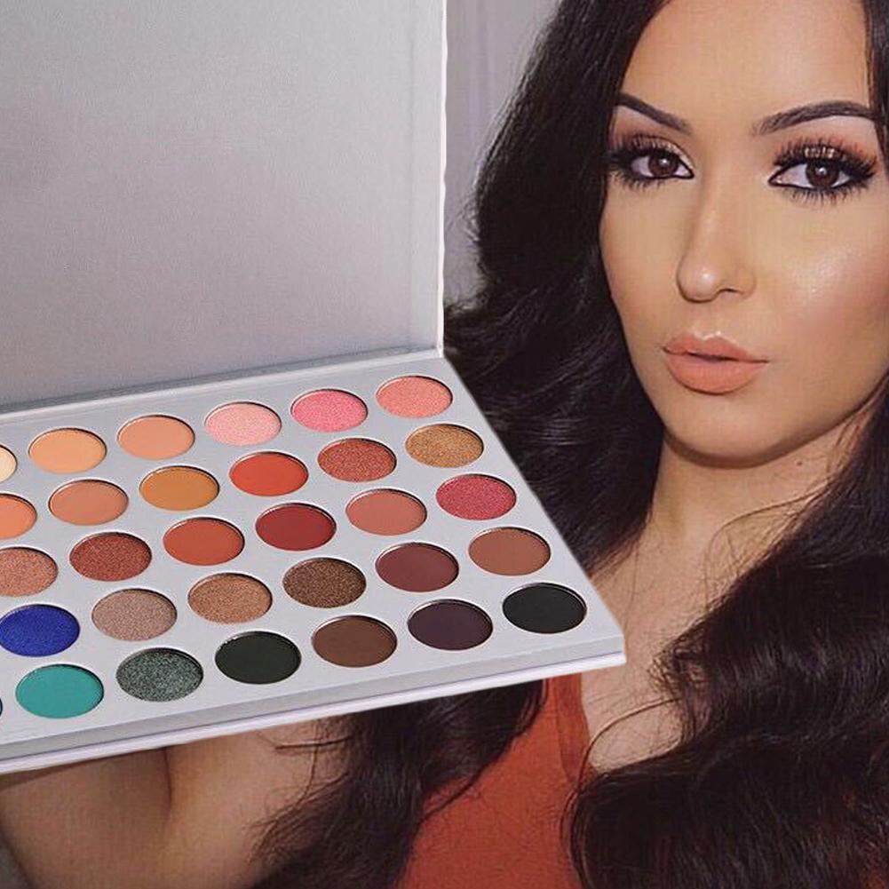 35 farbe Neue Gesicht Make-Up Lidschatten Palette Shades Shimmer Matte Lidschatten Pallete Kosmetik Für Morphes Stil MYY9277