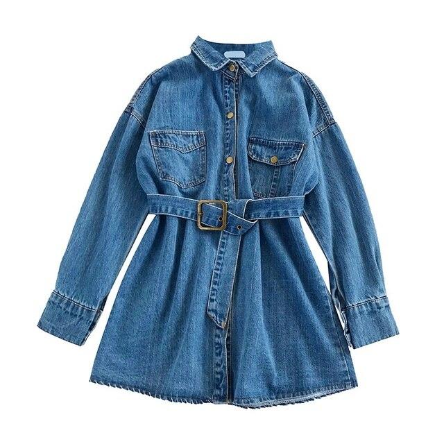 077c2ee84596a Primavera otoño vaqueros Slim Denim chaqueta Mujer Denim camisa abrigo mujer  Single-breasted pantalones vaqueros de mezclilla mujeres abrigo de  mezclilla ...