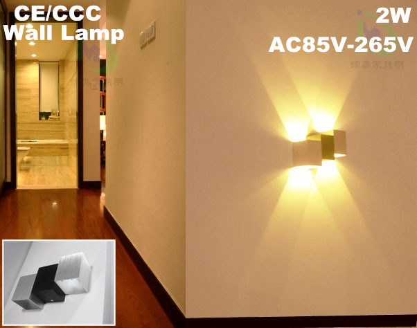 New Creative Led Wall Lamp Lights Brief Decoration Light Stairs Lamps For Home Modern Ac85 265v