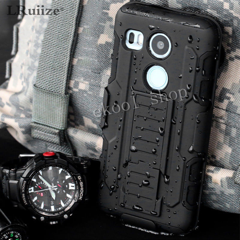 Shockproof Armor Cover For LG <font><b>k10</b></font> k8/k350 k3 G6G5G4G3/mini Nexus Silicone Stand <font><b>Phone</b></font> <font><b>Case</b></font> 3 in 1 combo hybrid Belt Clip Holster
