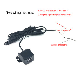 Image 3 - Автомобильная мини камера заднего вида, Wi Fi, HD, ночное видение, Автомобильная камера заднего вида, водонепроницаемая с видеокабелем 6 м, автомобильная камера