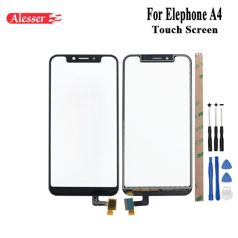 Alesser For Elephone A4 Touch Screen Perfect Repair Parts Touch Panel With Tools And Adhesive For Elephone A4 Touch ScreenAlesser For Elephone A4 Touch Screen Perfect Repair Parts Touch Panel With Tools And Adhesive For Elephone A4 Touch Screen
