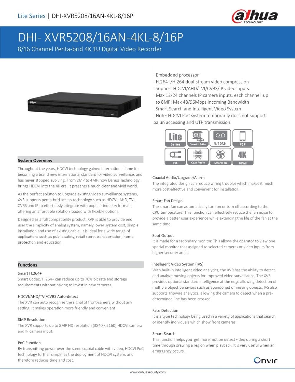 Dahua 8ch 16ch 4k Digital Video Recorder H264 Hdcvi Poc System H 264 Dvr Circuit Diagram Htb1cmw0nfusbunkhfqdq6xfhvxa8