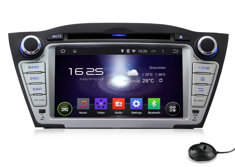 1024 600 hd 2 din 7 android 5 1 car dvd gps for hyundai. Black Bedroom Furniture Sets. Home Design Ideas