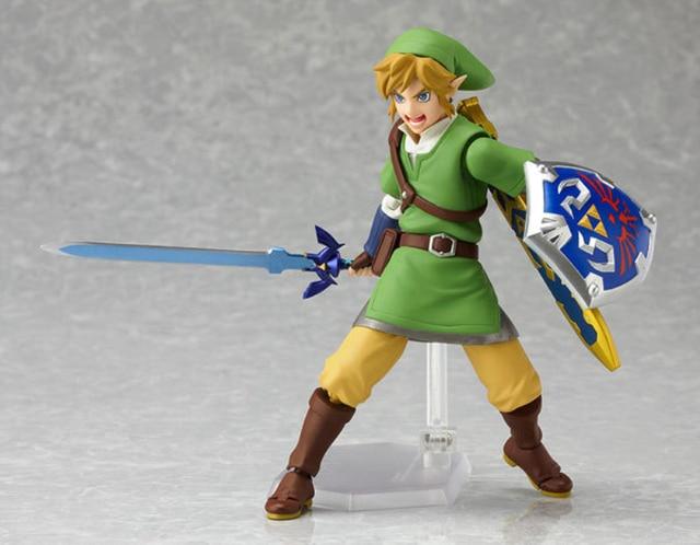 The Legend Of Zelda Skyward Sword Link Figma PVC Action Figure Collectible Model Toy 14cm