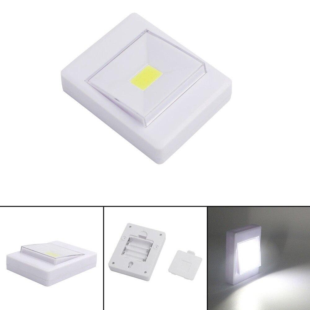 Luzes da Noite 2 pcs magnetic mini cob Bateria : Aaa