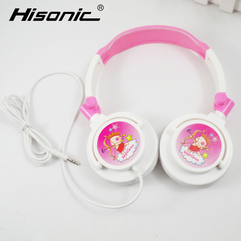 Children Headphones Twelve constellatBirthday Gifts Foldable Kids Headset Earphone for Mp3 Smartphone Girl Xiaomi PC Laptop