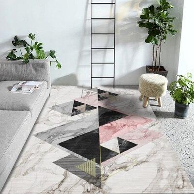 AAG Modern Nordic Geometric Pattern Carpet Area Rug Simple Living Room Coffee Table Bedroom Floor rug mat Kids Crawling