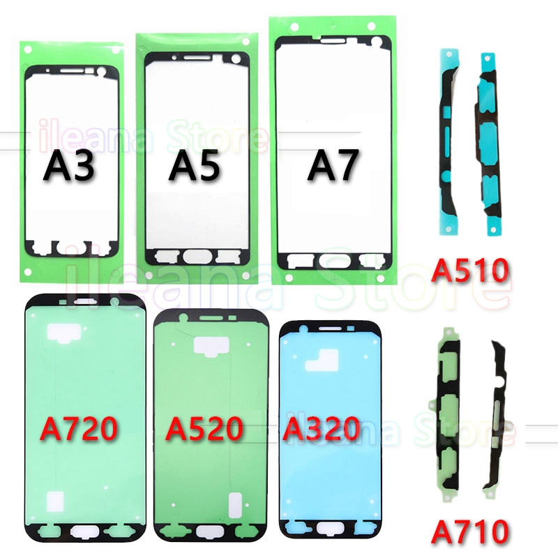10 Piece Original Adhesive Front LCD Display Frame Bezel Glue Sticker For Samsung Galaxy A3 A5 A7 2015 2016 2017