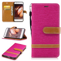 Luxury Wallet Mobile Phone Bag Leather Case For Huawei P10 P10 Lite P10 Plus Honor 6X Wallet Coque+Silicone Back Cover