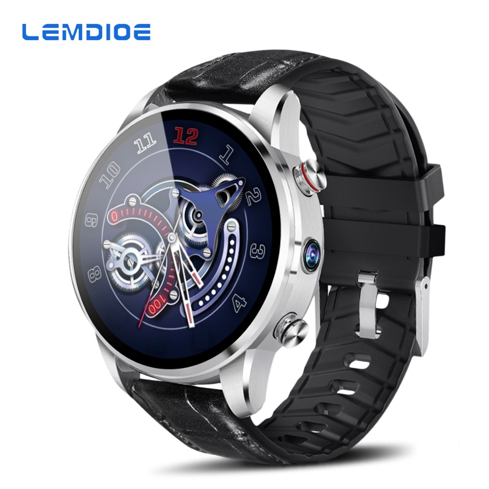 Classic business style 2019 4G smart watch android 7 1 with sim card camera gps bluetooth