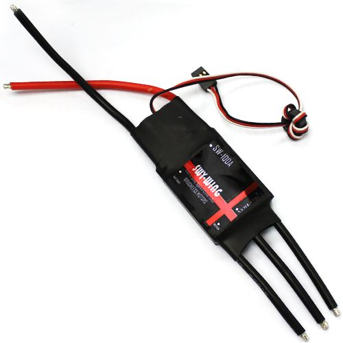 Brushless Motor 100A ESC 5A / 5V BEC 2-6S for RC Airplane Helicopter