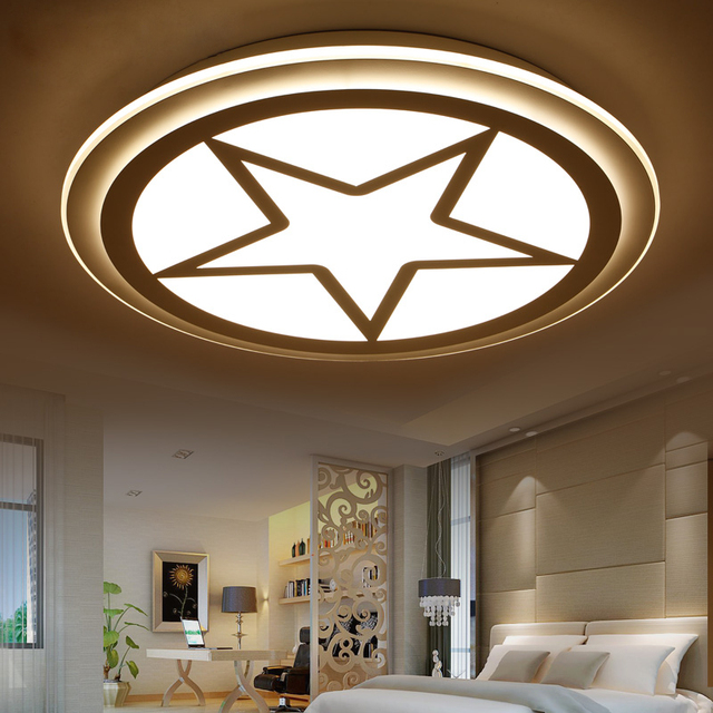Simple Modern Children S Room Led Ceiling Light Little Boy Eye Bedroom Living Lamp