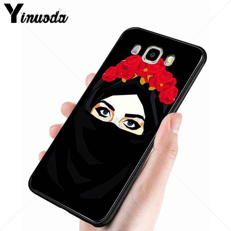 Yinuoda มุสลิมอิสลาม Custom Photo Soft case สำหรับ Samsung Galaxy j6plus j7 j8 j2 prime j4plus 2018 กรณี