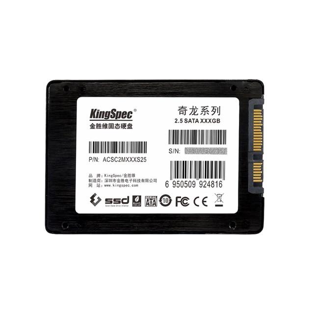 "Acsc2m256s25 kingspec marca de boa qualidade 2.5 ""ssd 240 gb sataiii 6 gb/s solid state drive interno para notebook/disco rígido de desktop"