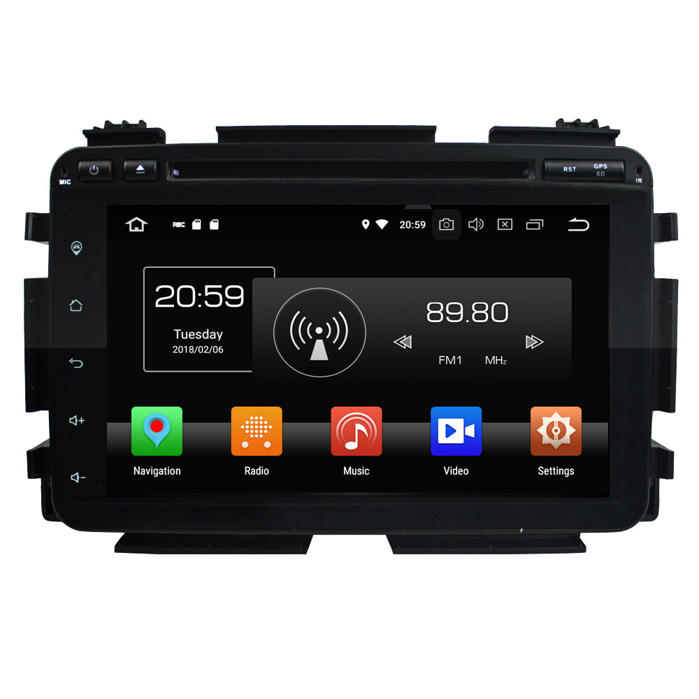 KLYDE 8 2 Din 8 Core 32GB Android 8 0 Car Multimedia Player For Honda HRV