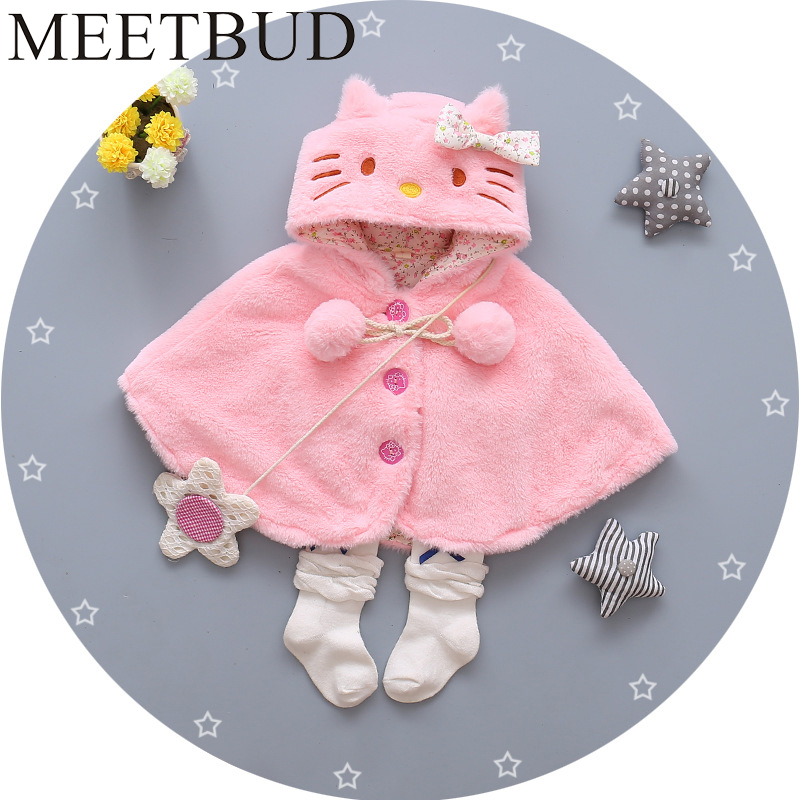 MEETBUD Winter autumn Children outwear clothing baby girl jacket fashion coat casual cotton girls kids long sleeves outerwear meetbud new arrival winter autumn outwear children clothing baby girl jacket fashion fur coat casual cotton girls kids outerwear