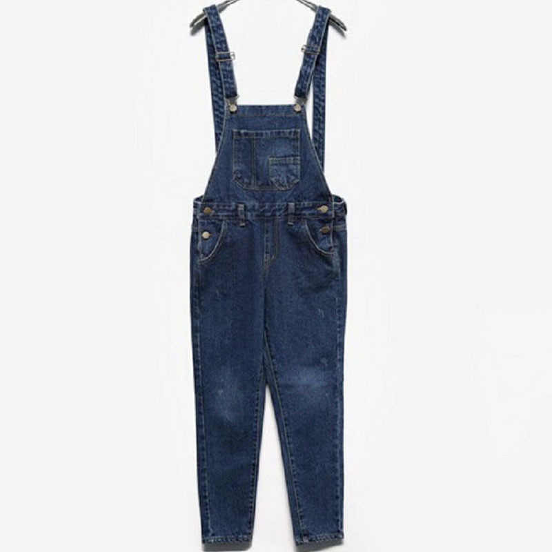 7fc42a20c8 ... SIMPVALE Salopette Women Stonewash Destroyed Denim Dungarees Jumpsuit  Ladies Overalls Casual Skinny Girls Jeans Pants Rompers ...