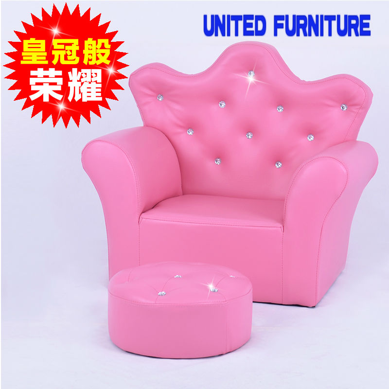 Baby Learn Seat Children Sofa Small PINK BLUE WHITE Baby Chair Leather Baby  Seat Kids Chair Child Sofa Chair In Children Chairs From Furniture On ...
