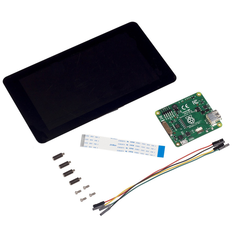"Image 3 - Official Raspberry Pi Foundation 7"" Touchscreen LCD Display For Raspberry Pi 3 Model B-in Demo Board Accessories from Computer & Office"