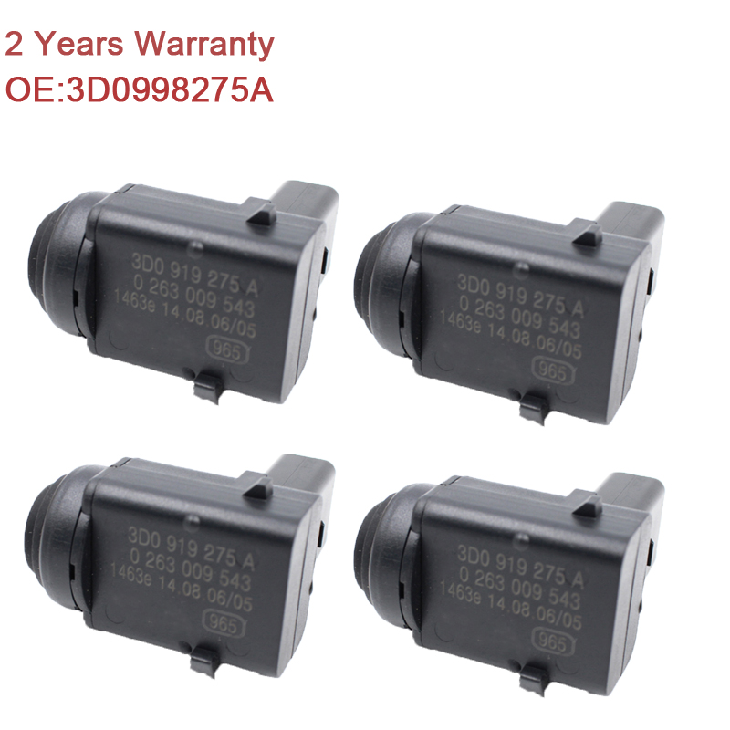 YAOPEI 4PCS New Parking PDC Sensor For Skoda VW Bora EOS Golf Jetta Touareg 3D0998275A 4pcs 13368131 13242365 100% original parking pdc ultrasonic sensor for opel cruze oe 0263013679 genuine