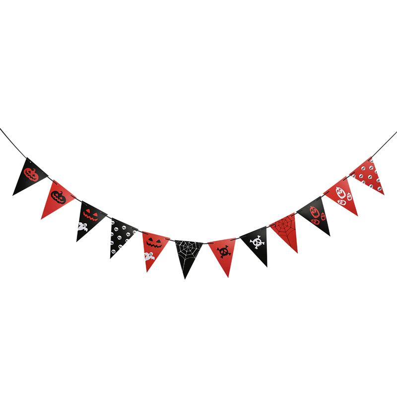 Festive & Party Supplies Event & Party Expressive Bestoyard 2017 12pcs/set Halloween Party Pennant Banner Party Decoration Bunting Garland Banner Festival Decor D5 To Produce An Effect Toward Clear Vision