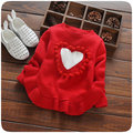 2016 new winter baby girls sweater kids clothes children sweater warm for girls knitwear