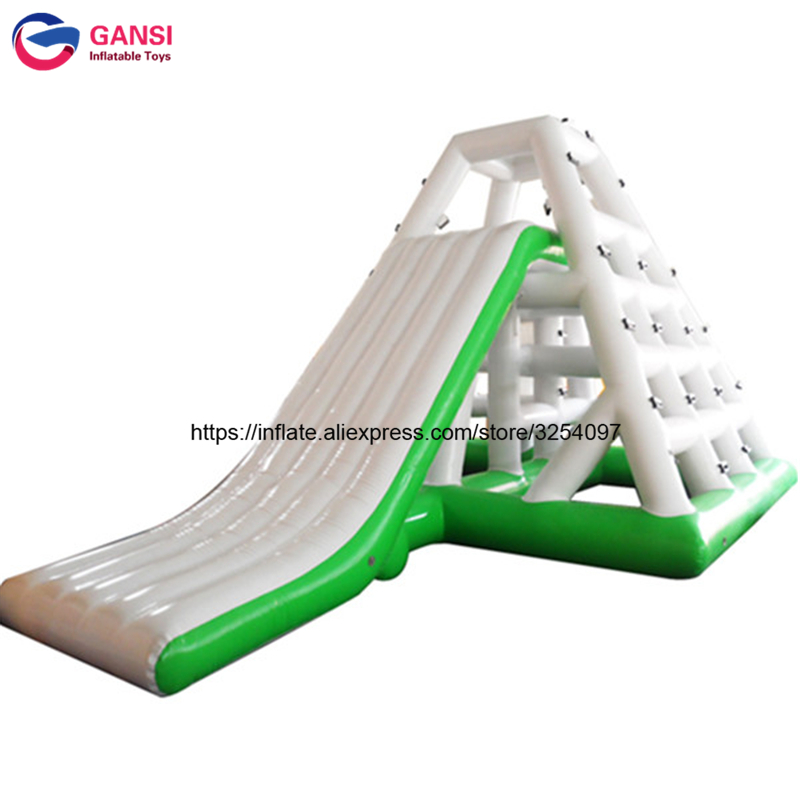 Cheap PVC Airtight adult inflatable Floating Water Slide , Inflatable Aqua Fun Games for sale high quality competitive price inflatable slide for kids and adult on sale