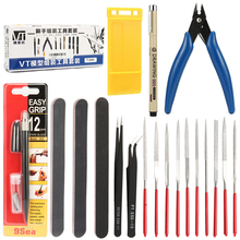 Hobby Modelling Tools Set Model Building Combo For Gundam DIY Accessories Grinding Cutting Polishing hand tools