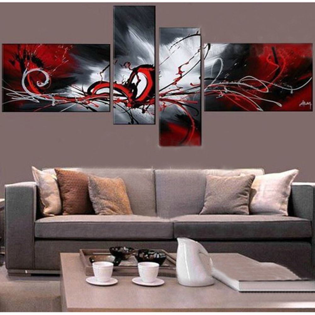 popular wall hanging artbuy cheap wall hanging art lots from  - large  hand painted oil painting modern abstract canvas picturesartwork wall art decorations wall