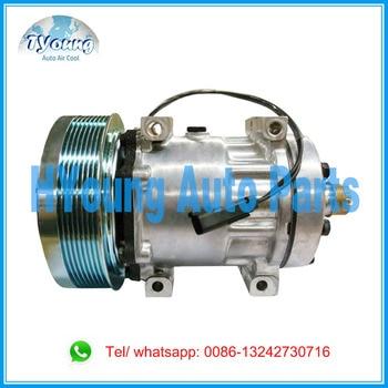 86993463 AC Compressor for Tractors Case IH 245 255 275 385 435 535 New Holland 317008A3 86992688 504078610