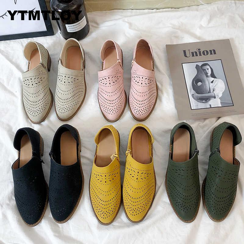 Plus Size 43 Women Shoes Vulcanize Fashion Slip On Sock Female Sneakers Flat Casual Tenis Feminino Hollow Zapatos De Mujer 2019