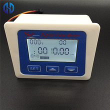 LCD display Digital meter temperature measuring flow senosr